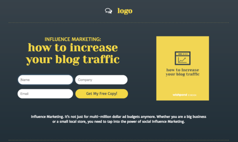 Create Beautiful Landing Pages With WishPond Plugin